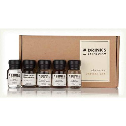 Drinks by the Dram Absinthe Tasting Set - 5 x 3cl 65%