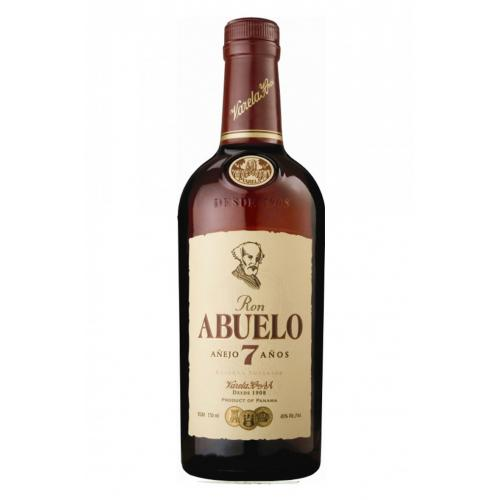 Ron Abuelo 7 Year Old Anejo Rum - 70cl 40%