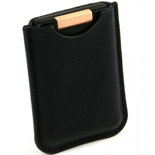 Adorini Leather Black Case Neptune Cutter