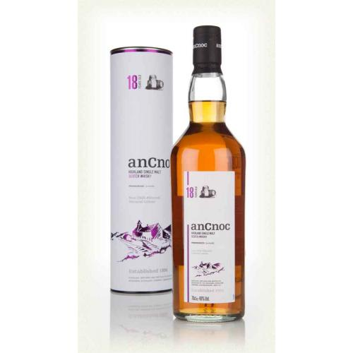 Ancnoc 18 Year Old Single Malt Scotch Whisky - 70cl 46%