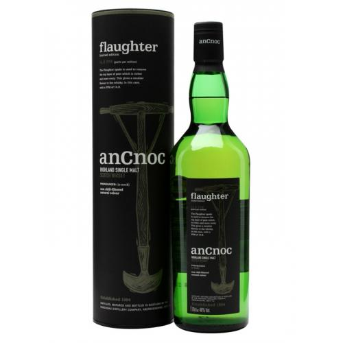 AnCnoc Flaughter Peaty Collection Malt Scotch Whisky 46% Vol 70cl