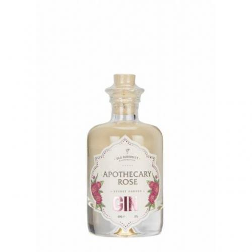 Old Curiosity Apothecary Rose Gin Miniature - 4cl 39%