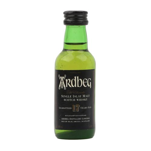 Ardbeg 17 Year Old \'Ultimate\' Single Malt Scotch Whisky Miniature - 5cl 40%