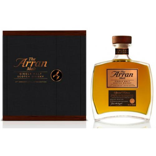 Arran 21st Anniversary Limited Edition Single Malt Scotch Whisky - 70cl 52.6%