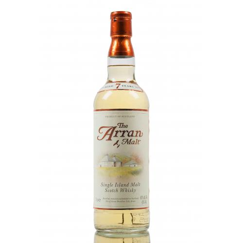 Arran 7 Year Old Single Malt Scotch Whisky Without Box - 70cl 43%