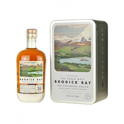 Arran 20 Year Old Explorers Series Volume 1 Brodick Bay Whisky - 70cl 49.8%