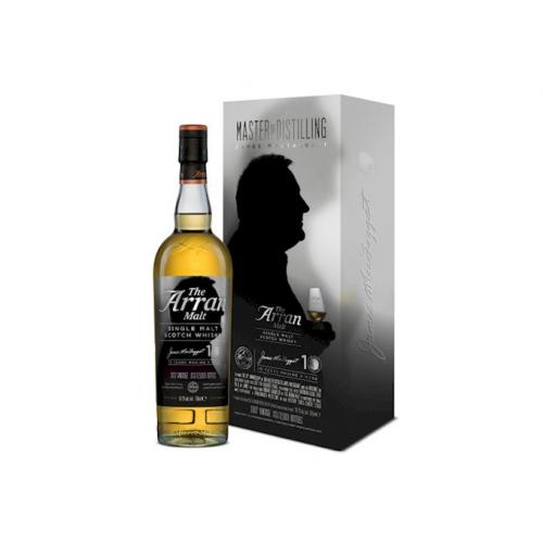Arran James McTaggart 10th Anniversary Edition Single Malt Scotch Whisky - 70cl