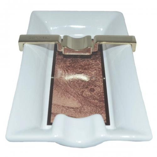 Lubinski Small Ceramic Cigar Ashtray - Single cigar rest