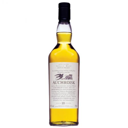 Auchroisk 10 Year Old Flora and Fauna Single Malt Scotch Whisy - 70cl 43%