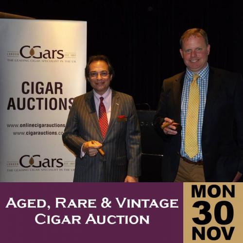 Aged, rare and vintage havana cigar auction