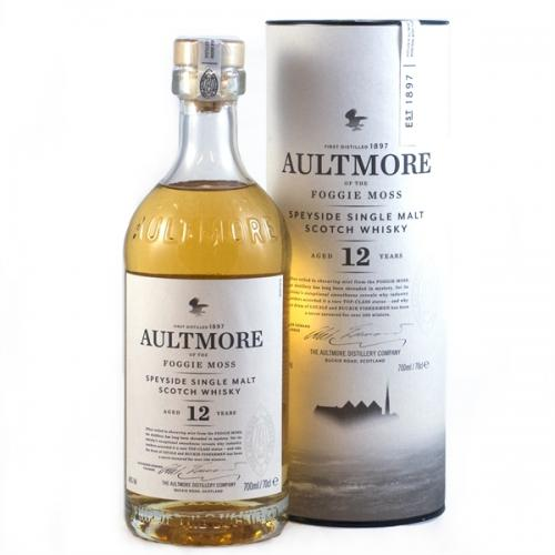 Aultmore 12 Year Old Single Malt Scotch Whisky - 70cl 46%