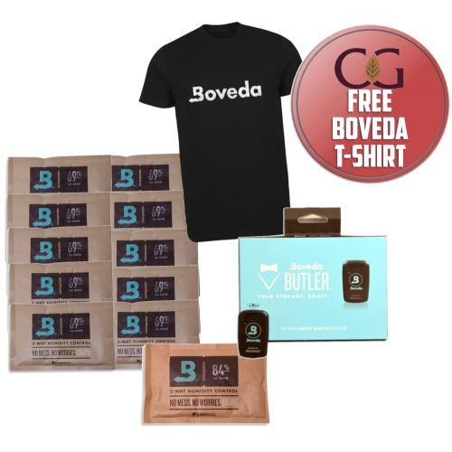 All in 1 Boveda Sampler – FREE XL T-Shirt