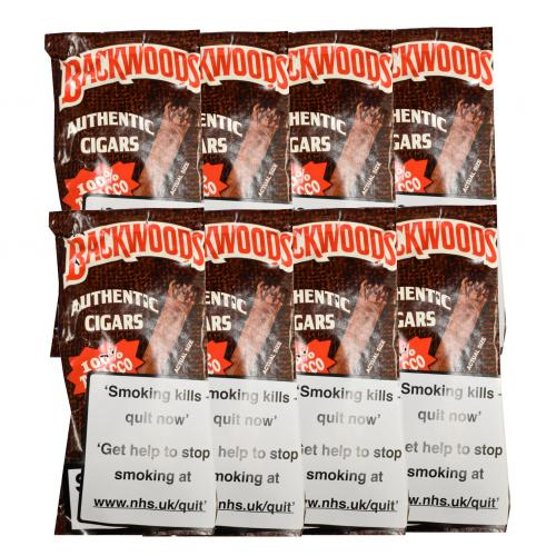 Backwoods Original - 8 x Pack of 5 (40 cigars)