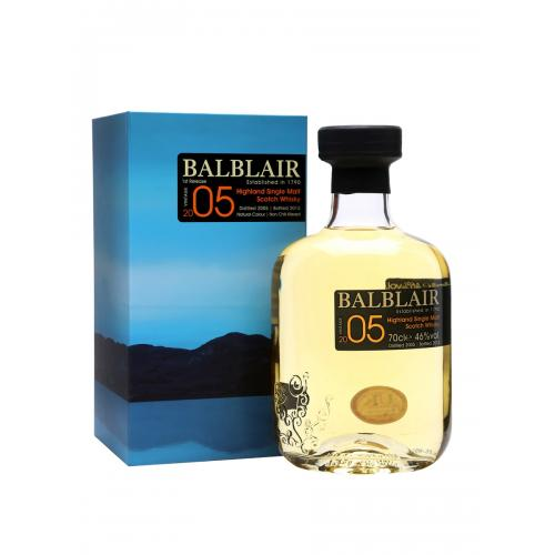 Balblair 2005 Single Malt Scotch Whisky - 70cl 46%