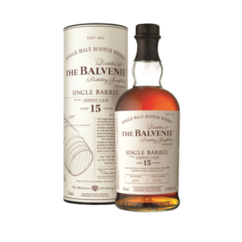 Balvenie 15 Year Old Single Barrel Sherry Cask Malt - 70cl 47.8%