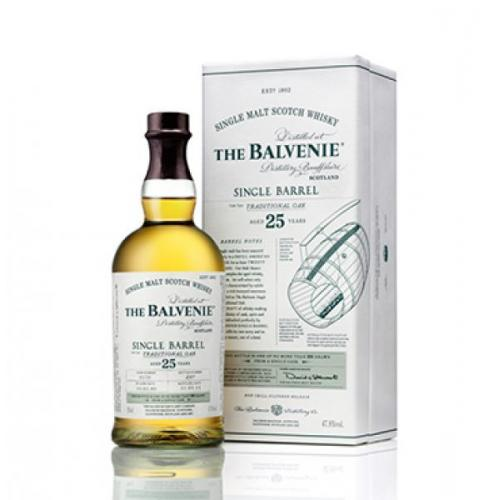 Balvenie 25 Year Old Single Barrel Single Malt Scotch Whisky - 70cl 47.8%