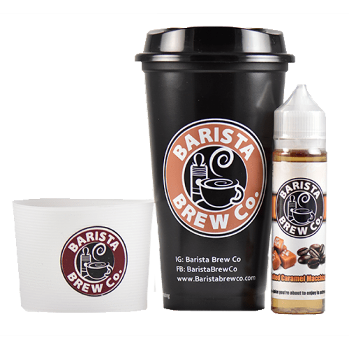Barista Brew Co. Salted Caramel Macchiato Vape E-Liquid 0mg 50ml