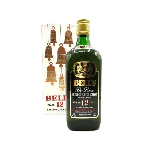 Bells 12yo Deluxe 60s/70s Blended Scotch - 70 Proof 26 2/3 FL. OZS