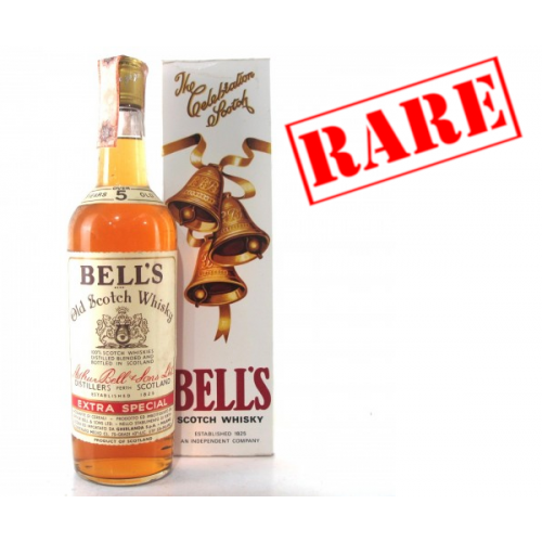 Bells 5 Year Old Vintage 1960s Old Scotch Whisky - 75cl 43%