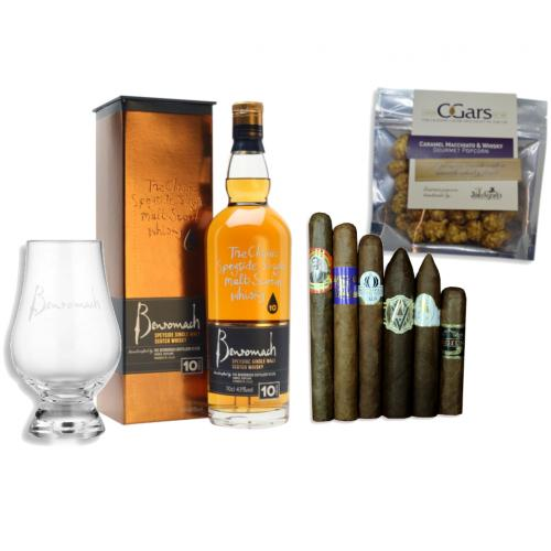 Benromach 10 Year Old Whisky + New World Cigar Selection Pairing
