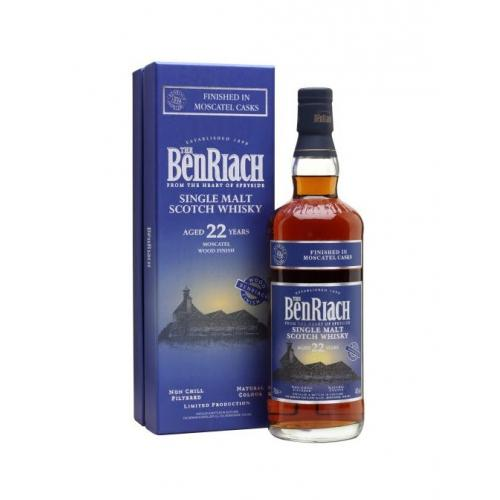BenRiach 22 Year Old Moscatel Finish - 70cl 46%