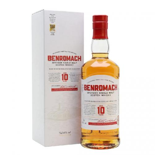 Benromach 10 Year Old  - 43% 70cl