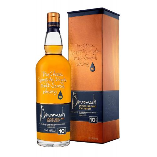 Benromach 10 Year Old - 70cl 43%