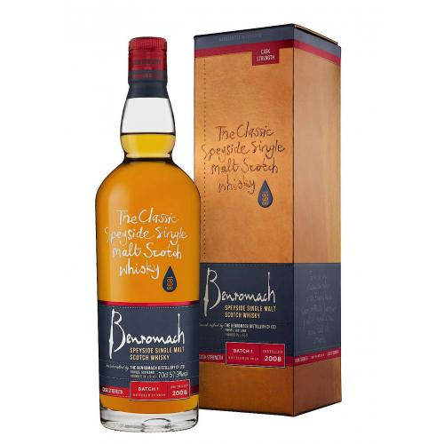Benromach 2008 Cask Strength Single Malt Scotch Whisky - 70cl 57.9%