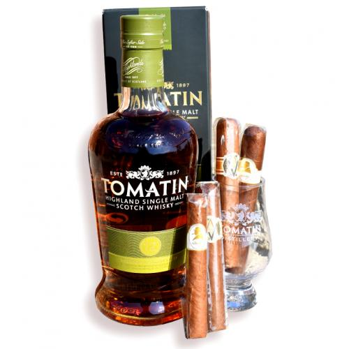 Exclusive - Tomatin 12 Year Old Silky and Smooth Pairing Sampler