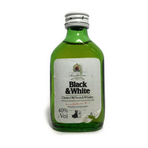 Black & White Buchanans Choice Old Scotch Whisky Miniature - 5cl 40%