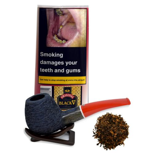 Danish Black V Mixture Planta Pipe Tobacco 40g Pouch