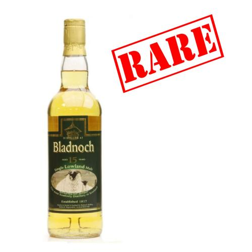 Bladnoch 15 Year Old Signed Bottle Single Malt Scotch Whisky - 70cl 55%