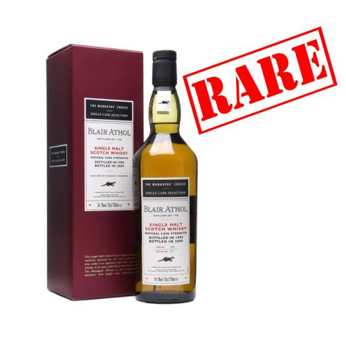 Blair Athol 1995 Managers Choice Single Malt Whisky - 70cl 54.7%