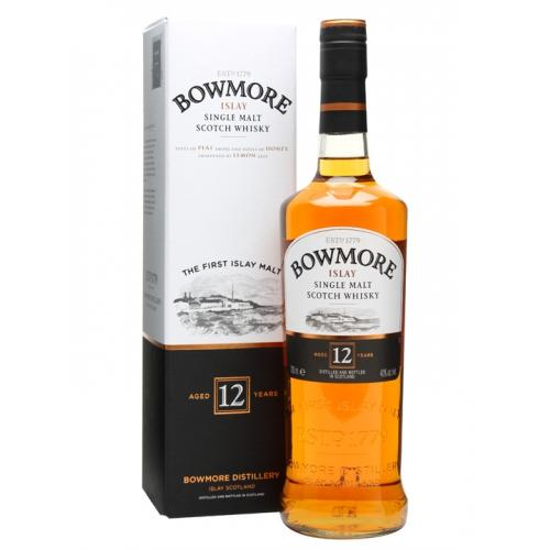 Bowmore 12 Year Old Single Malt Scotch Whisky - 70cl 40%