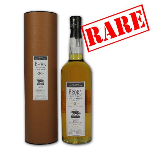 Brora 30 Year Old 2010 Whisky - 70cl 54.3%
