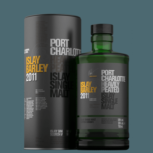 Bruichladdich Port Charlotte 2011 Heavily Peated Barley Whisky - 70cl 50%