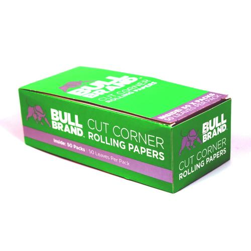 Bull Brand Green Regular Rolling Papers 50 packs
