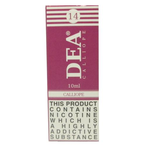 DEA Calliope Vape E- Liquid 10ml 14mg