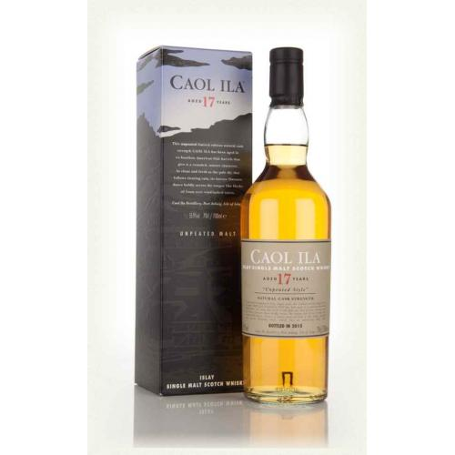 Caol Ila 17 Year Old Whisky - 70cl 55.9%