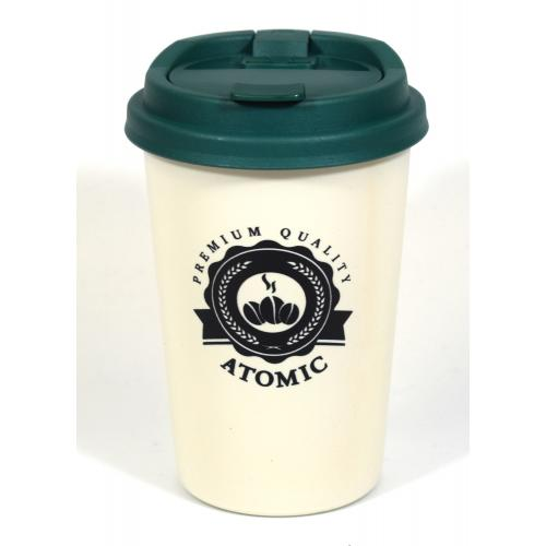 Atomic2Go Car Ashtray Cup - Green