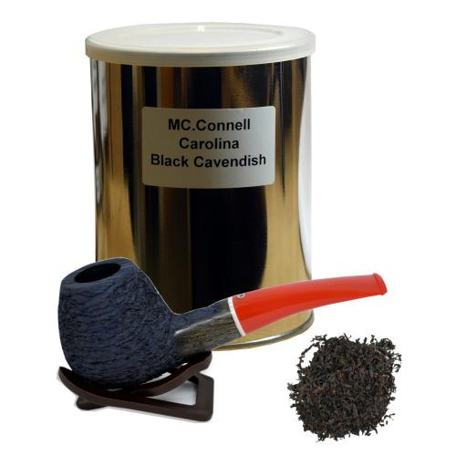 Robert McConnell Carolina Black Cavendish Pipe Tobacco (250g Tub) - End of Line