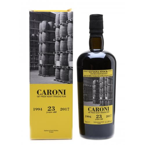Caroni 23 Year Old 100 Proof Rum - 70cl 57.18%