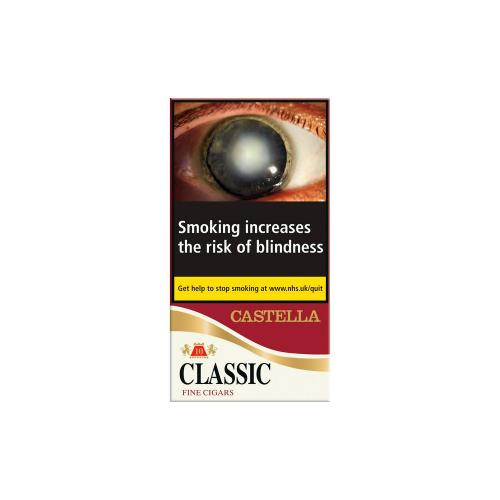 Castella Classic Fine Cigars - Pack of 10 (10 Cigars)