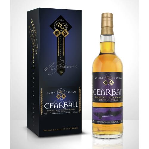 Cearban Robert Graham Vatted Single Malt Scotch Whisky - 70cl 40%