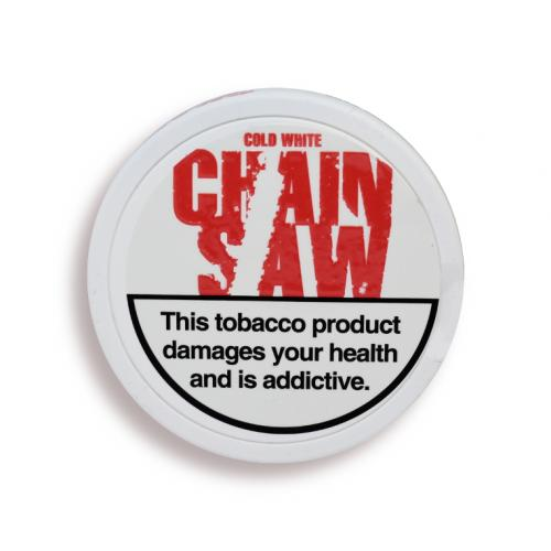Chainsaw Chewing Bag Tobacco Tin