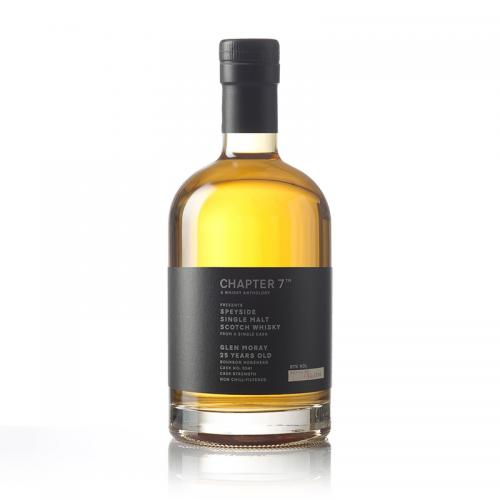 Chapter 7 Glen Moray 25 Year Old 1990 Whisky - 70cl 57%