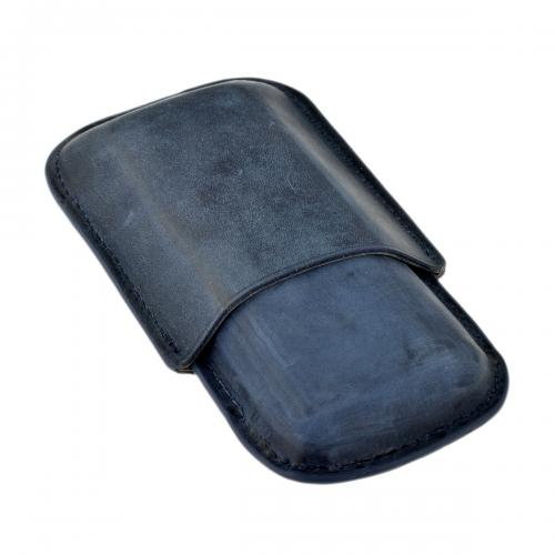 GBD 2 Finger Cigar Case - Up to 48 Ring Gauge - Black