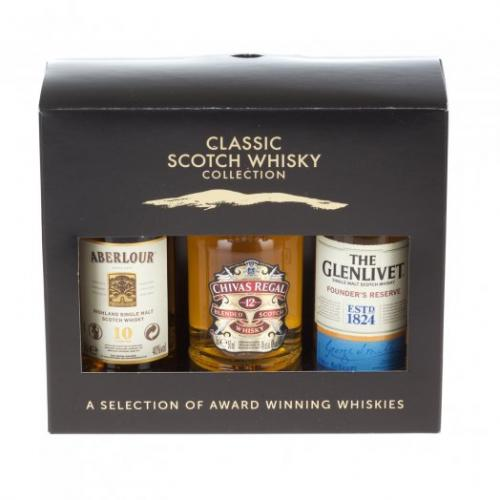Classic Scotch Whisky Collection - 3x5cl 40%