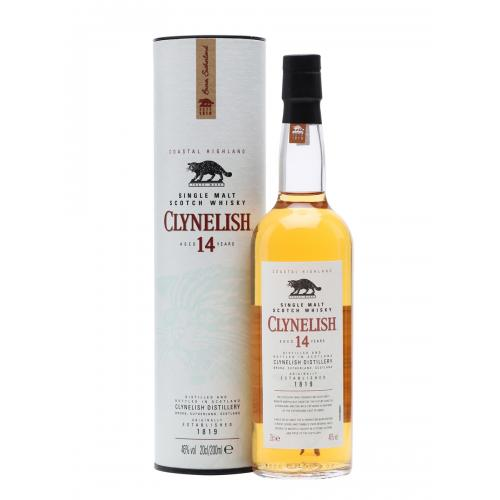 Clynelish 14 Year Old Coastal Single Malt Scotch Whisky - 20cl 46%
