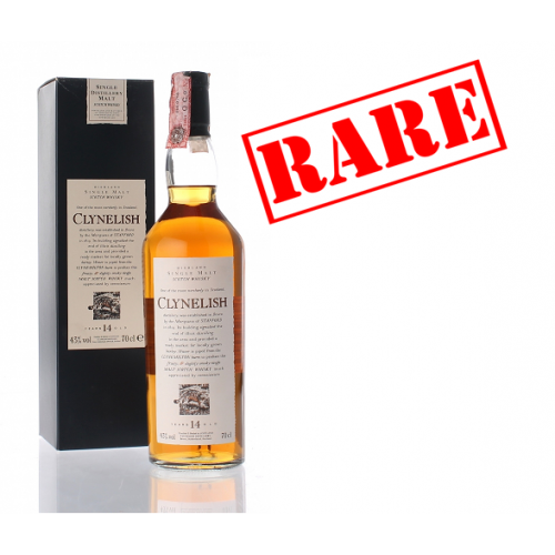 Clynelish 14 Year Old Flora & Fauna Whisky - 70cl 43%